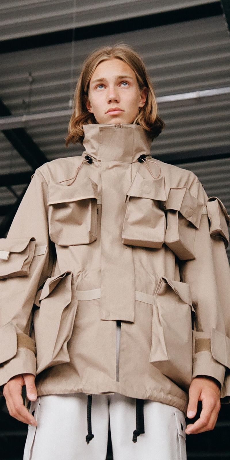 Куртка изколлекции Liniya Pobeda