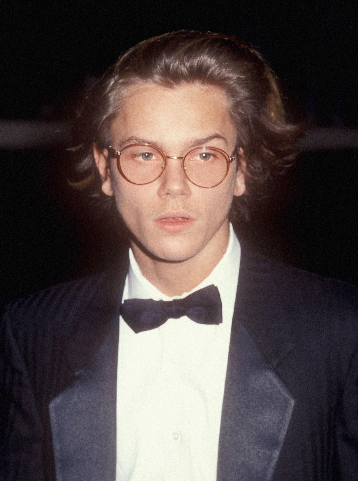Ривер Феникс на56-й церемонии вручения премии «Золотой Глобус», 28 января 1989 года