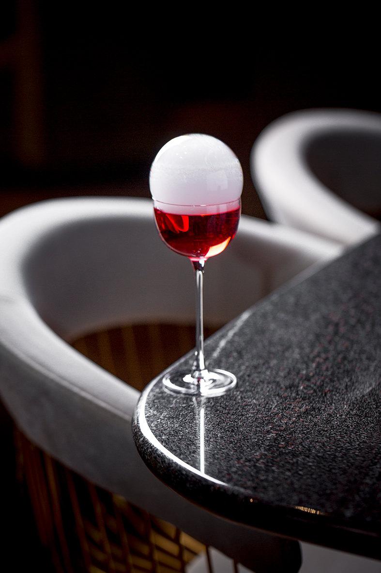 Коктейль Strawberry & Basil Martini