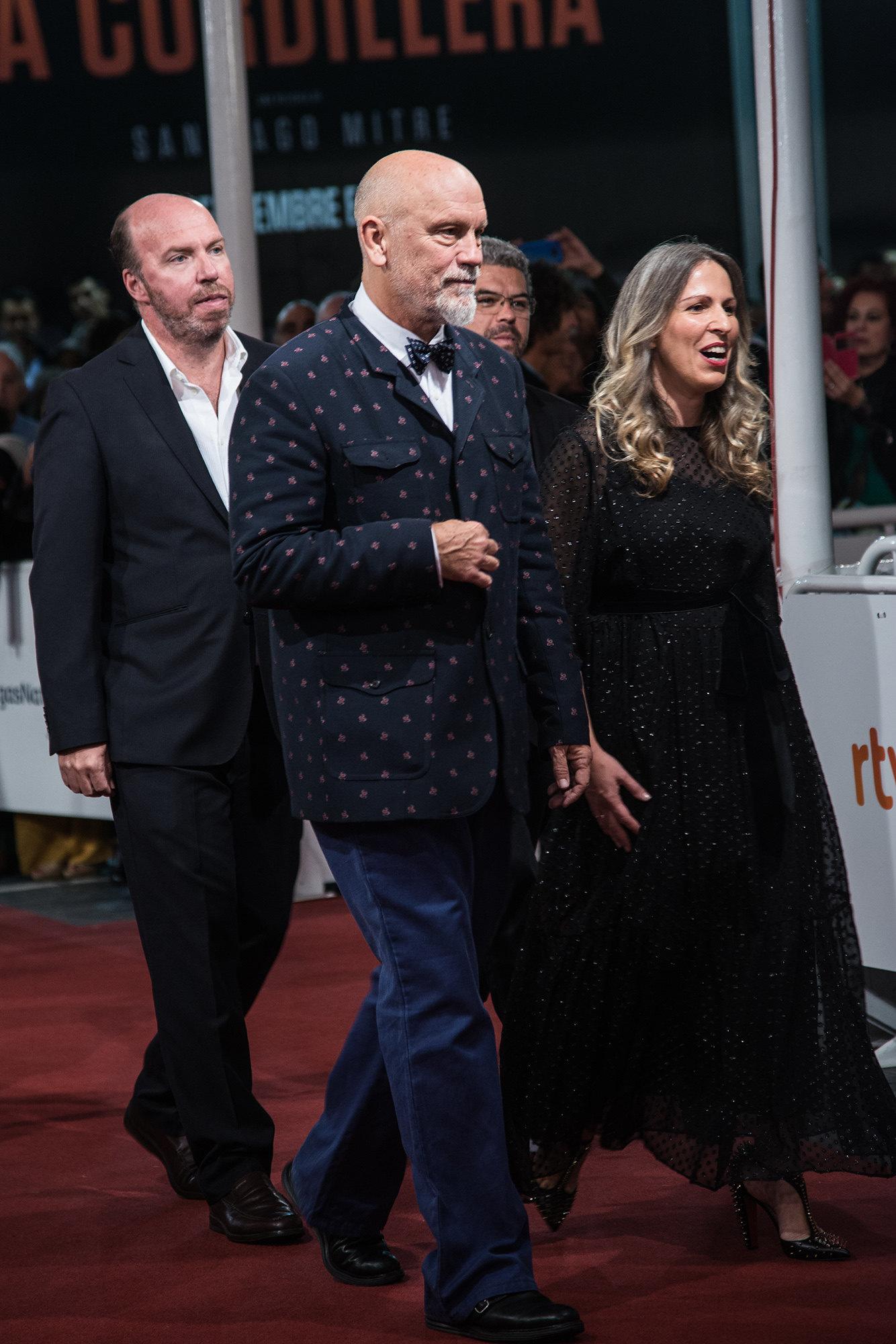 John Malkovich attends the red carpet of the closure gala during 65th San Sebastian Film Festival at Kursaal on September 30, 2017 in San Sebastian, Spain. (Photo by )