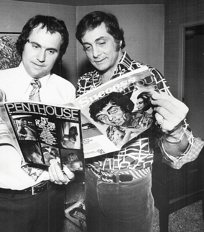 Боб Гуччионе (справа) ифотограф Джон Нилинг