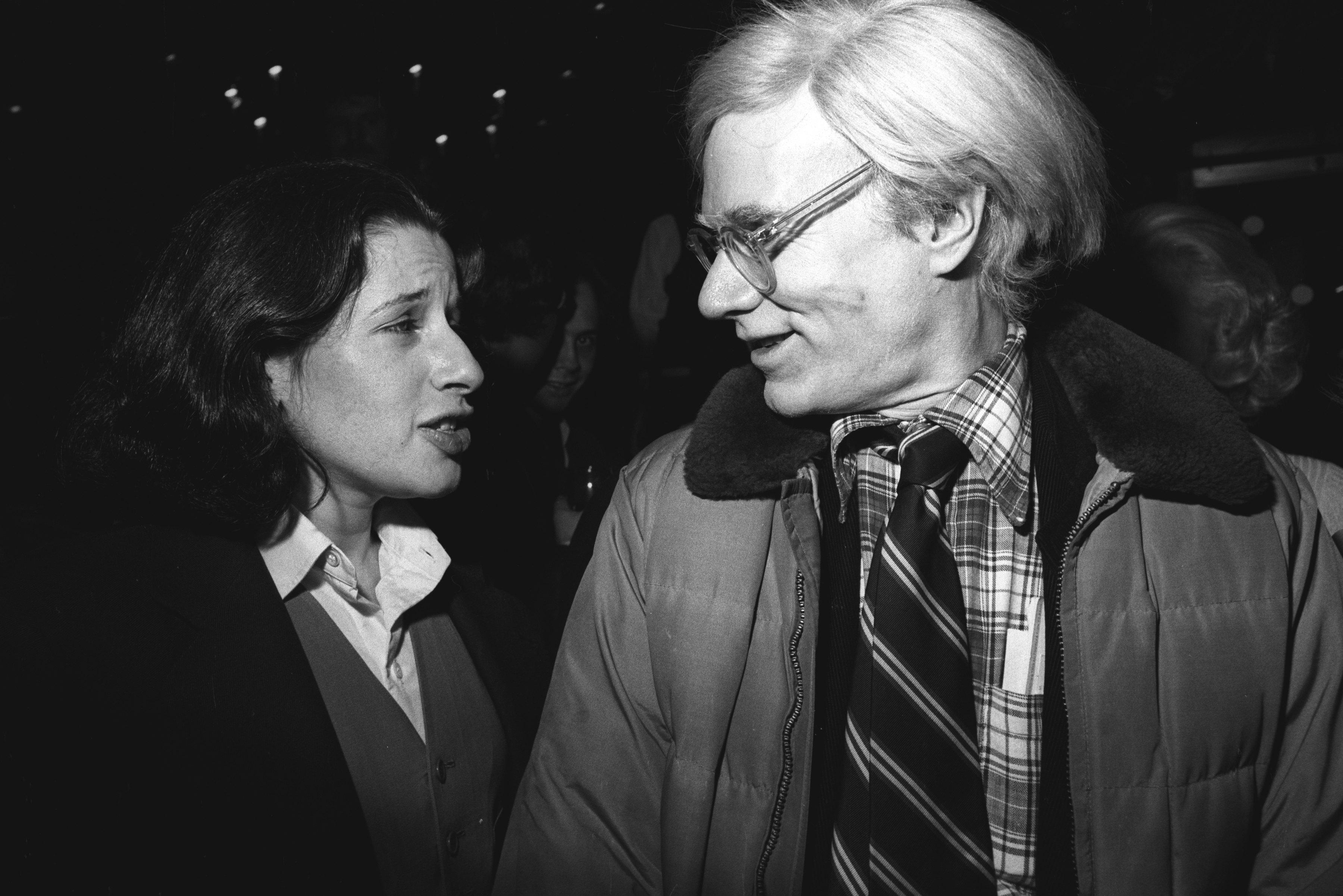 С Энди Уорхолом вНью-Йорке, 1977