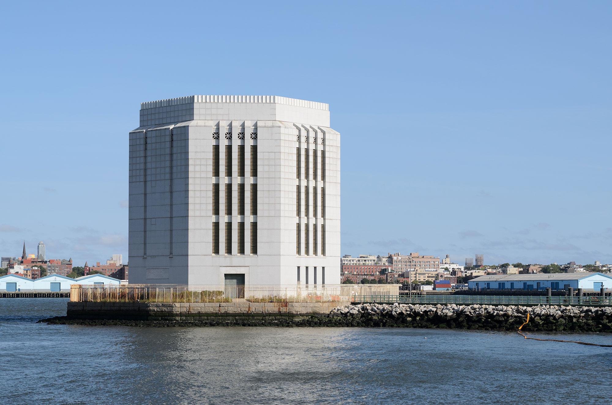 Вентиляционная башня тоннеля Бруклин-Бэттери