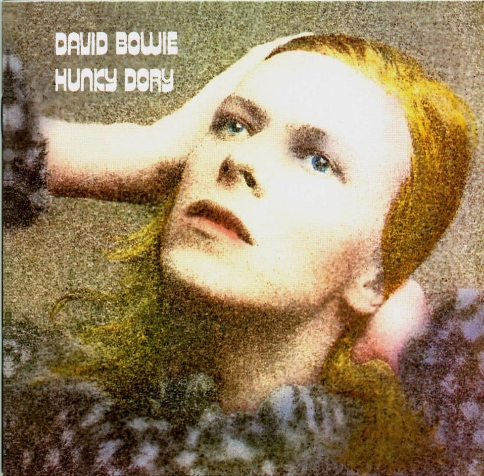 Обложка альбома Hunky Dory Дэвида Боуи, оформленная Андервудом.
