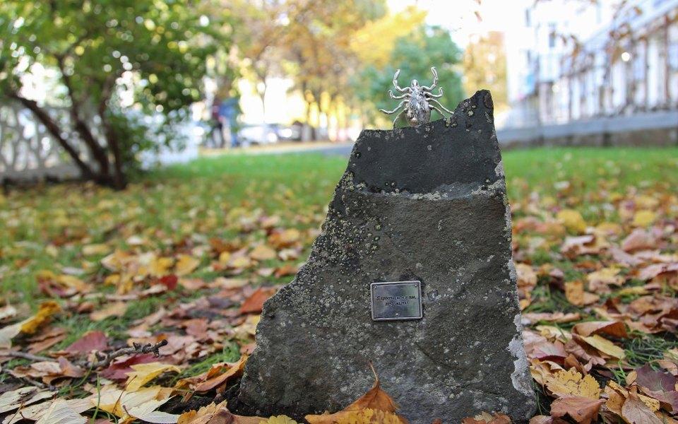В центре Уфы установили памятник клещу Валере