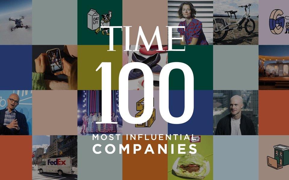 Журнал Time впервые назвал 100 самых влиятельных компаний