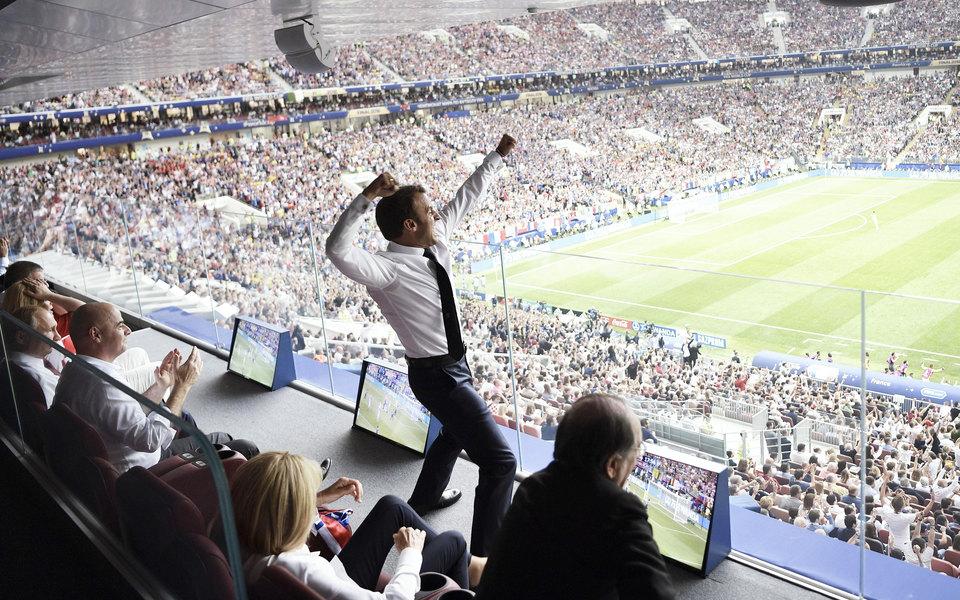 Политики изнаменитости натрибунах чемпионата мира вРоссии