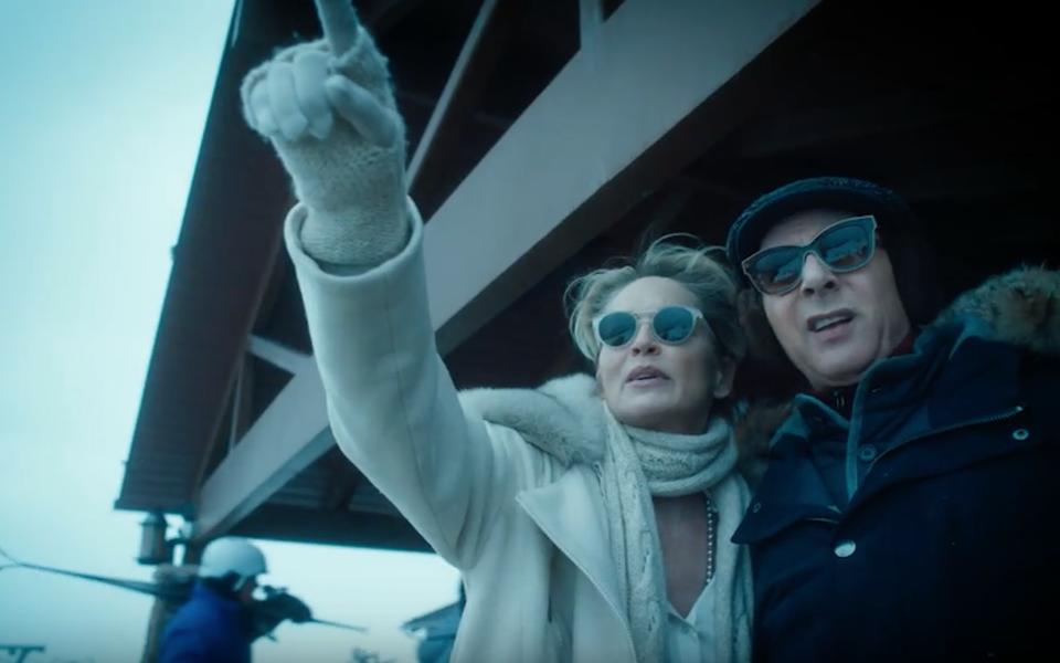 Посмотрите трейлер нового сериала Стивена Содерберга сШэрон Стоун