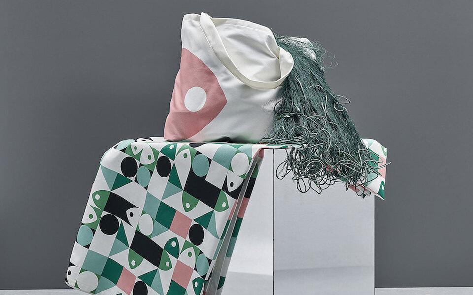 IKEA выпустили коллекцию домашнего текстиля изпереработанного океанического пластика