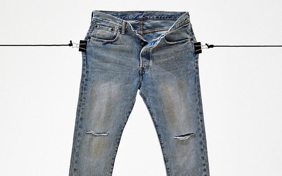 Гардероб: джинсы Levi's 501 CT