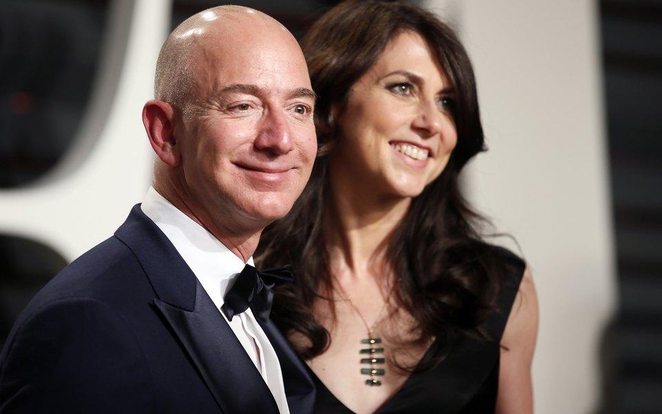 Forbes опубликовал список богатейших американцев. Напервом месте — глава Amazon Джефф Безос