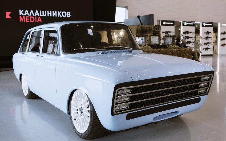 «Калашников» представил концепт электромобиля