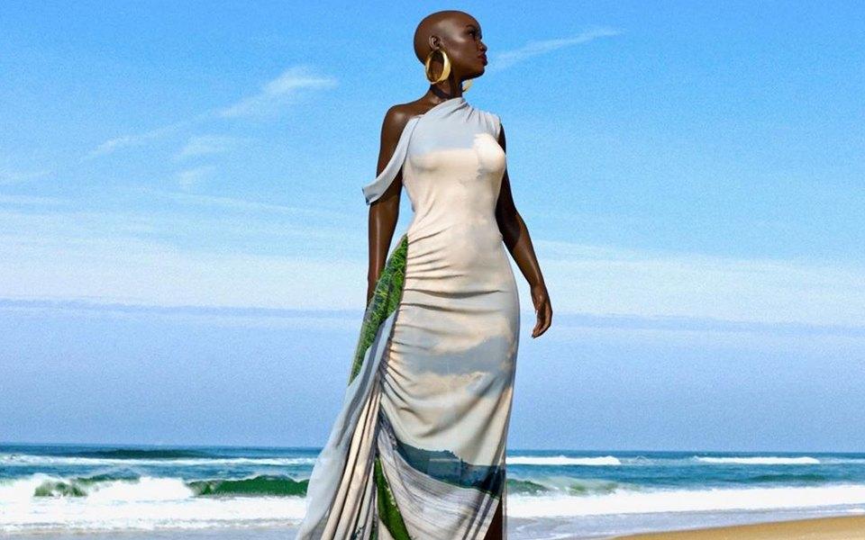 Дизайнер изКонго показала, какими могут быть модные показы будущего. Вместо моделей — 3D-одежда, которая «ходит» поподиуму