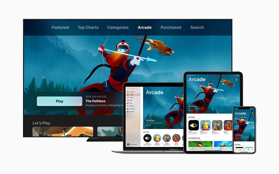 Айфон вмире мобильных игр: как платформа Apple Arcade изменит игровую индустрию