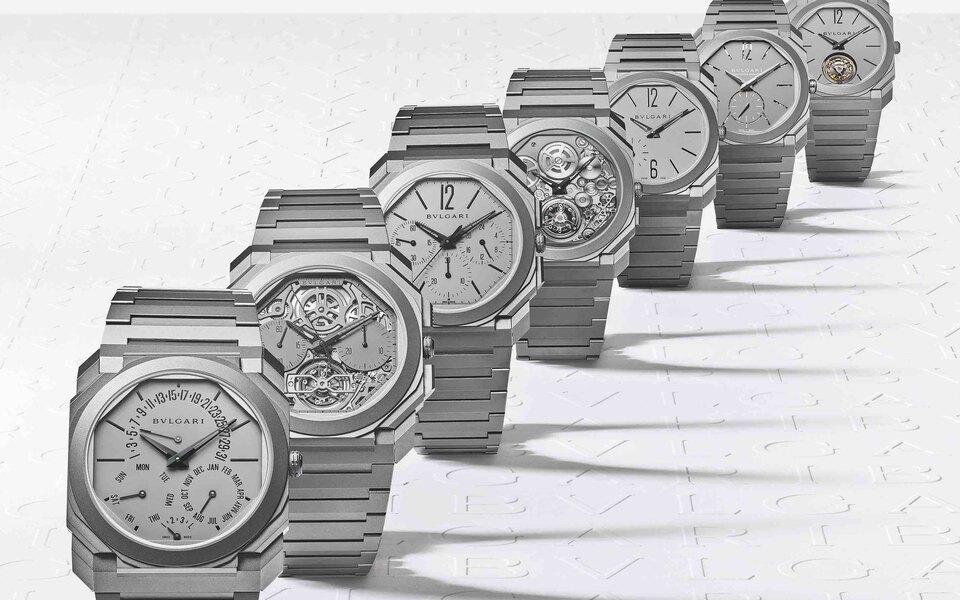 Самые тонкие часы с вечным календарем Bvlgari