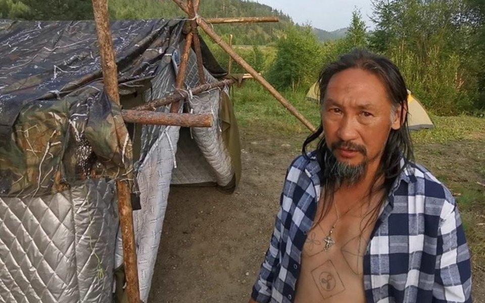 В Якутии задержали (снова) шамана Габышева, который шел вМоскву «изгонять Путина»