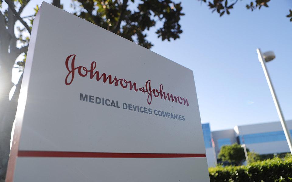 Офис компании Johnson & Johnson в городе Ирвин, США