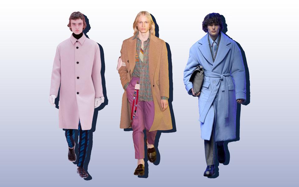 Цвета, фактуры иобъемы: 3 мужских показа виртуальных недель моды, накоторые стоит обратить внимание