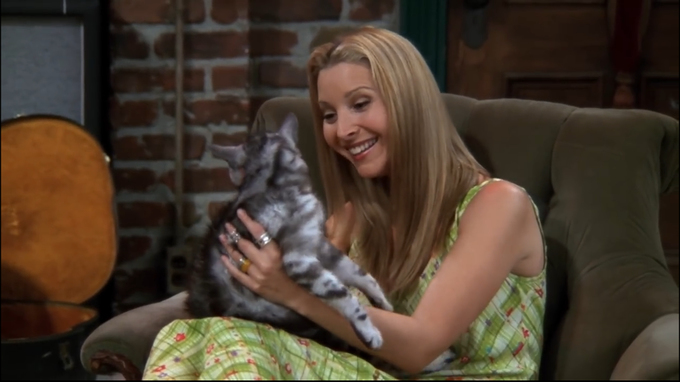 Как звали кота, которого Фиби считала реинкарнацией своей матери?