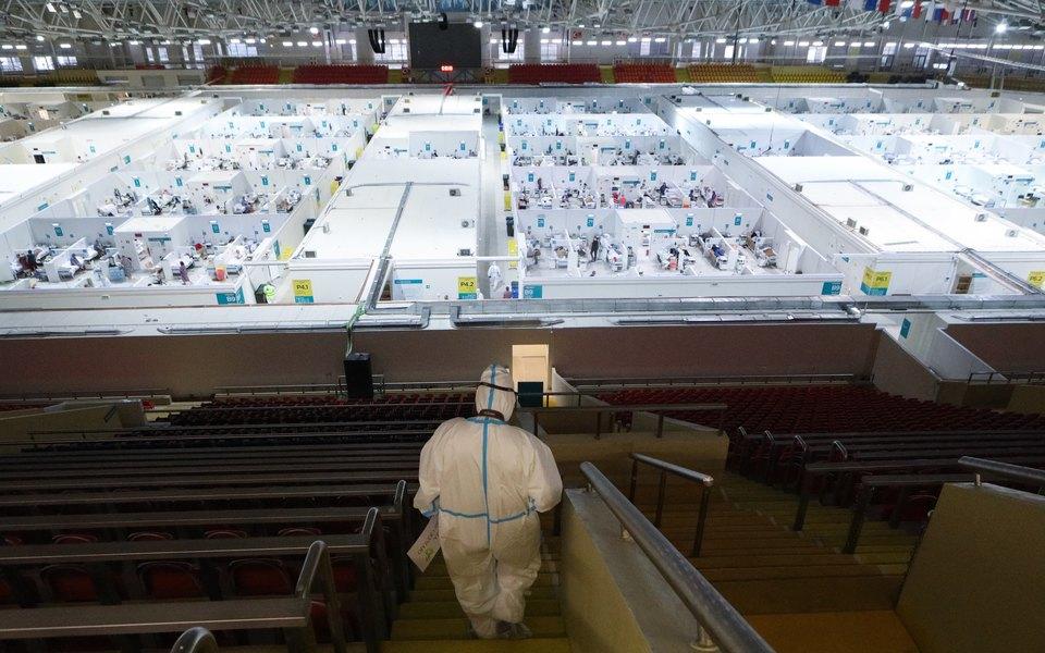 В России выявили 22 850 новых случаев заражения коронавирусом