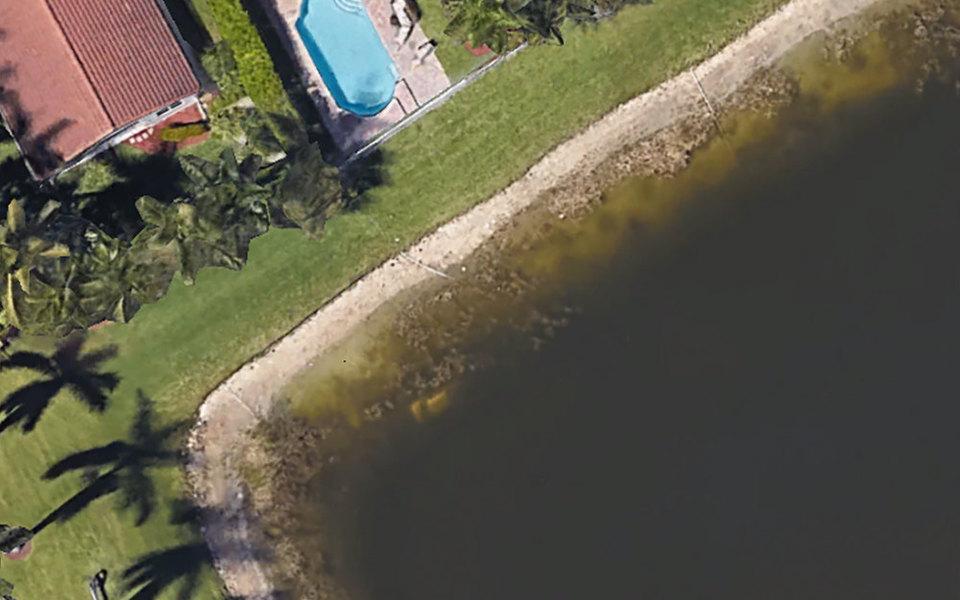 Во Флориде 22 года назад пропал мужчина. Недавно его останки нашли спомощью Google Earth