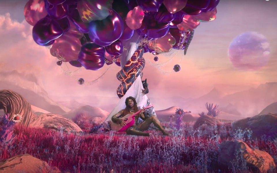 Рэпер Lil Nas X выпустил игру, вкоторой нужно управлять его ягодицами итверкать
