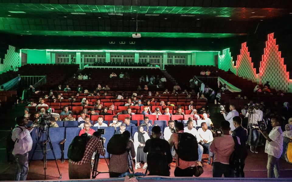 В Сомали впервые за 30 лет провели кинопоказ