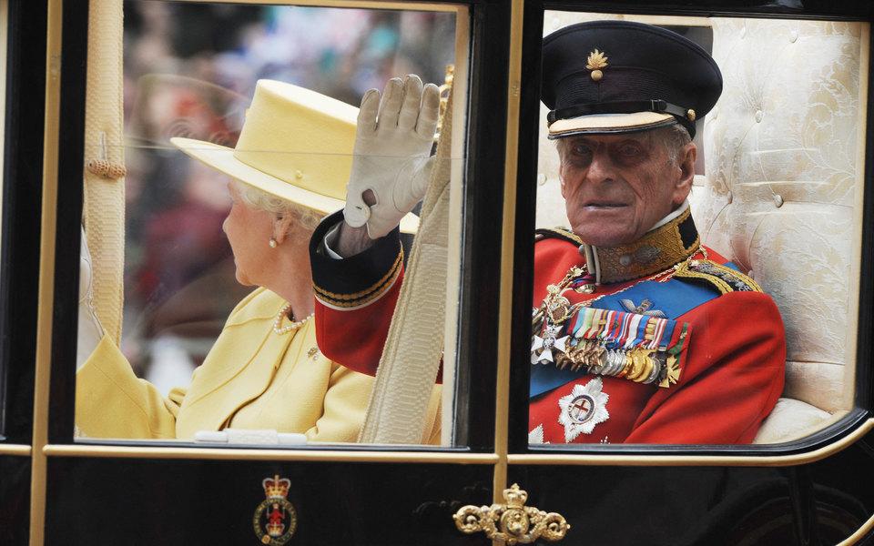В Великобритании начался траур по принцу Филиппу