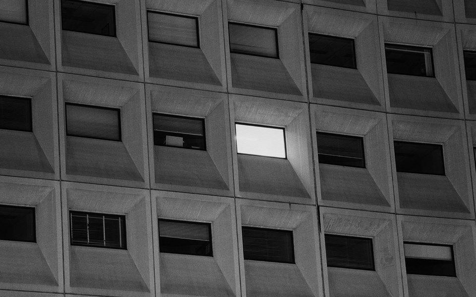 Мощь, сила, власть: Федеральный треугольник вВашингтоне — вчерно-белых снимках фотографа Майка Осборна