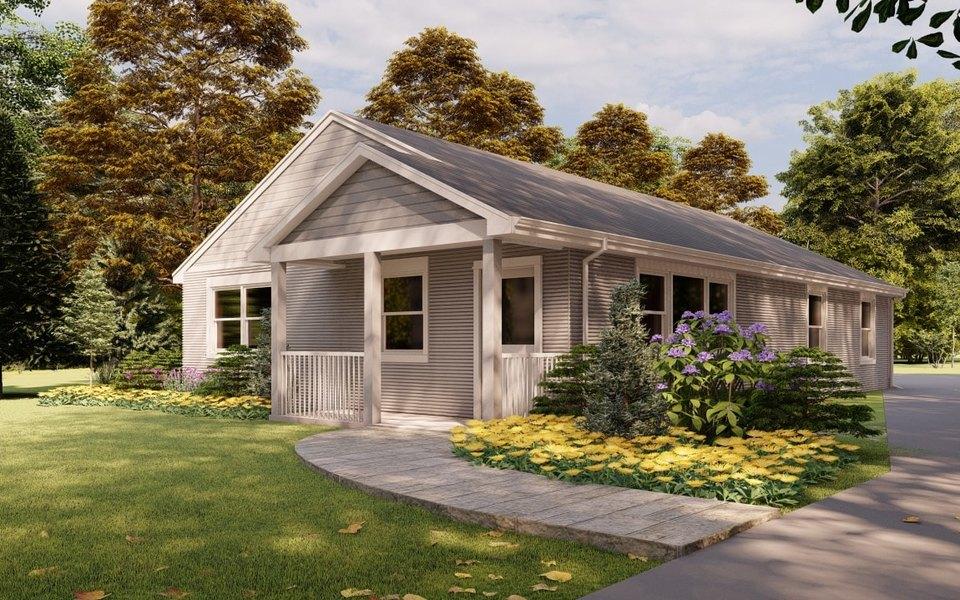 Жилой дом, напечатанный на3D-принтере, впервые выставили напродажу вСША