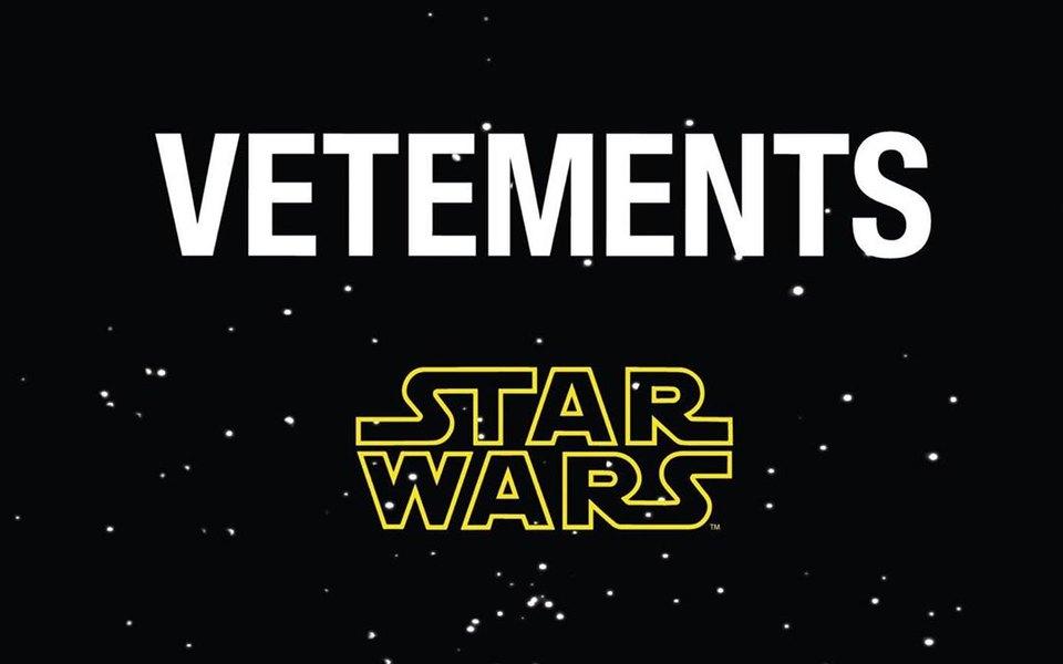 Модный бренд Vetements сделал коллаборацию со «Звездными войнами» — впервые ее покажут вМоскве