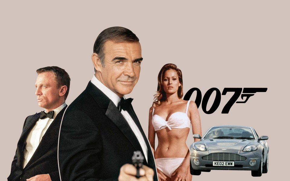 Джеймс Бонд: как менялся агент 007 с1960-х идо наших дней