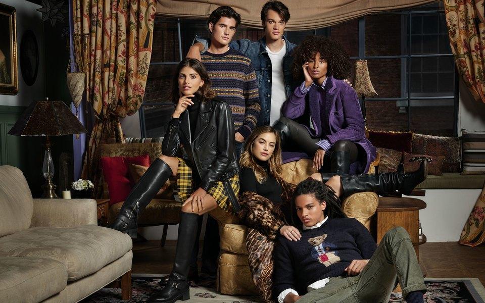 Команда Ralph Lauren посвятила коллекцию сериалу «Друзья» истилю Рэйчел Грин