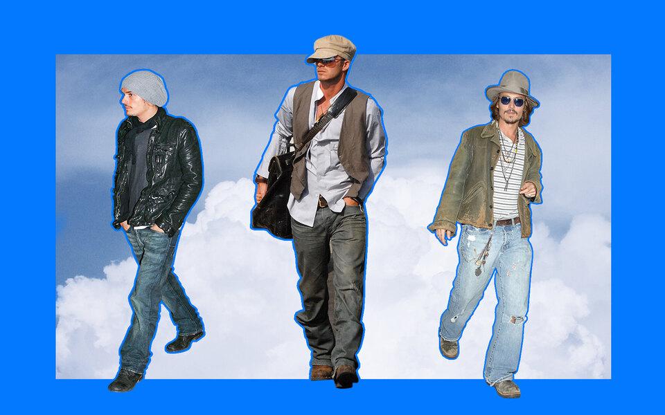 Как Брэд Питт, Дэвид Бекхэм иОрландо Блум одевались ваэропорт в2000-х — икак эти образы стали феноменом «аэропортный стиль»