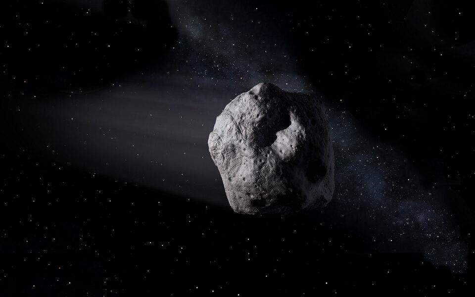 В сторону Земли летит астероид размером савиалайнер