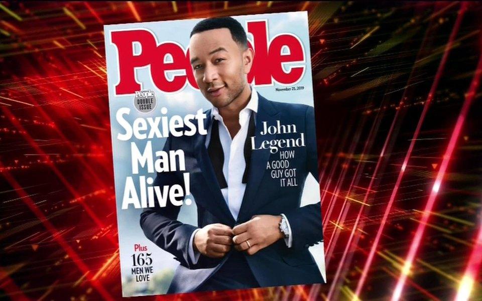 Джон Ледженд стал самым сексуальным мужчиной 2019 года поверсии журнала People