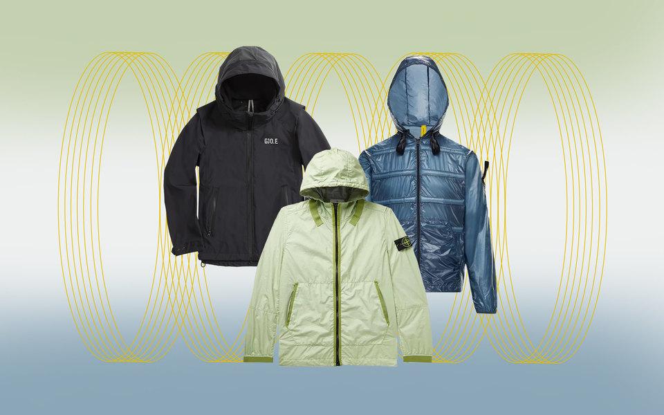 Непромокаемые куртки на лето