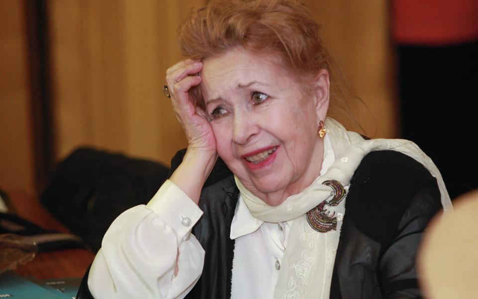 Умерла актриса Инна Макарова. Она снималась в«Девчатах», «Женитьбе Бальзаминова» и«Молодой гвардии»
