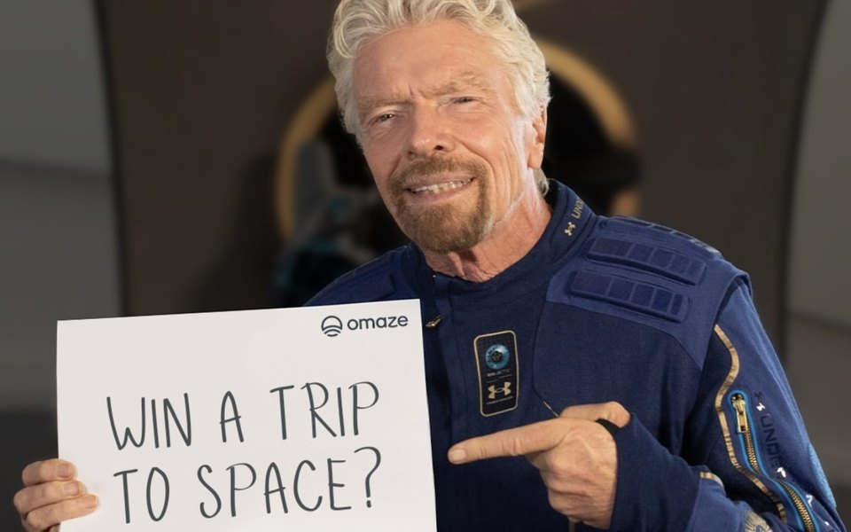 Был ли Брэнсон в космосе?