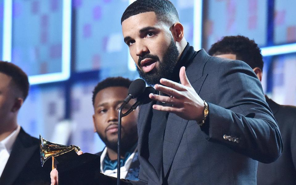 Дрейку отключили микрофон во время благодарственной речи нацеремонии «Грэмми»