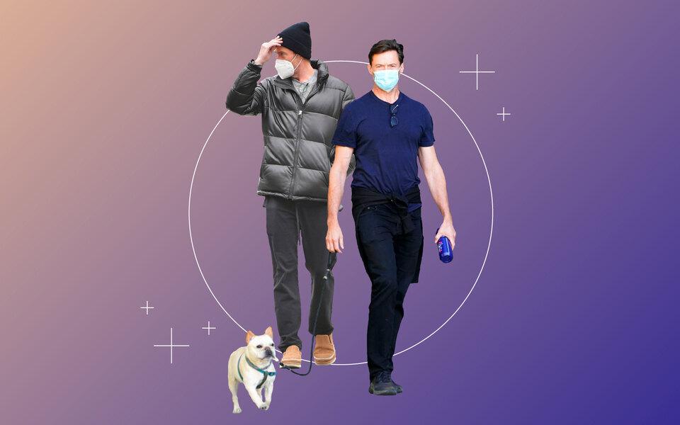 «Карантинный» стиль Хью Джекмана как пример отличного базового гардероба — ине только навремя пандемии