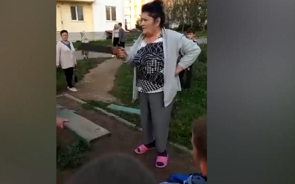 Жительницы села вЛенобласти распилили качели надетской площадке. Им мешал шум