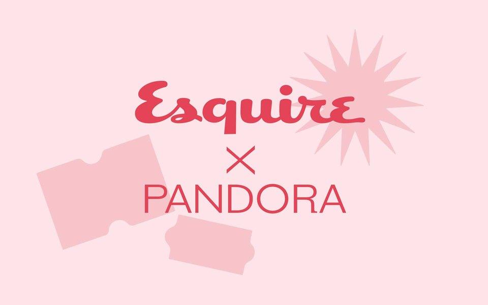 Получите июньский номер Esquire, сделав заказ насайте бренда Pandora