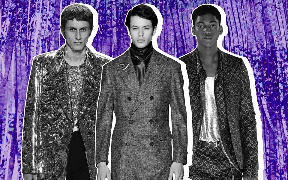 Мужчины внарядном: самые интересные мужские образы нанеделе высокой моды вПариже