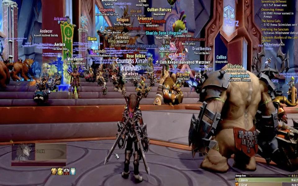 Пользователи устроили сидячий протест в World of Warcraft после обвинений в харассменте и дискриминации сотрудниц в адрес разработчика игры