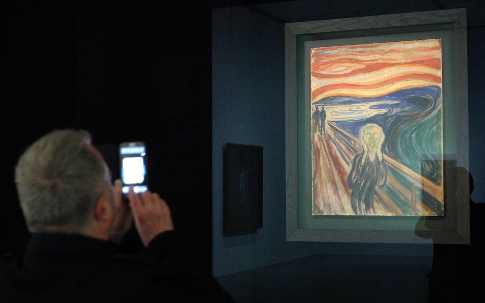 Картина Эдварда Мунка  «Крик» начала тускнеть. Искусствоведы выяснили, почему