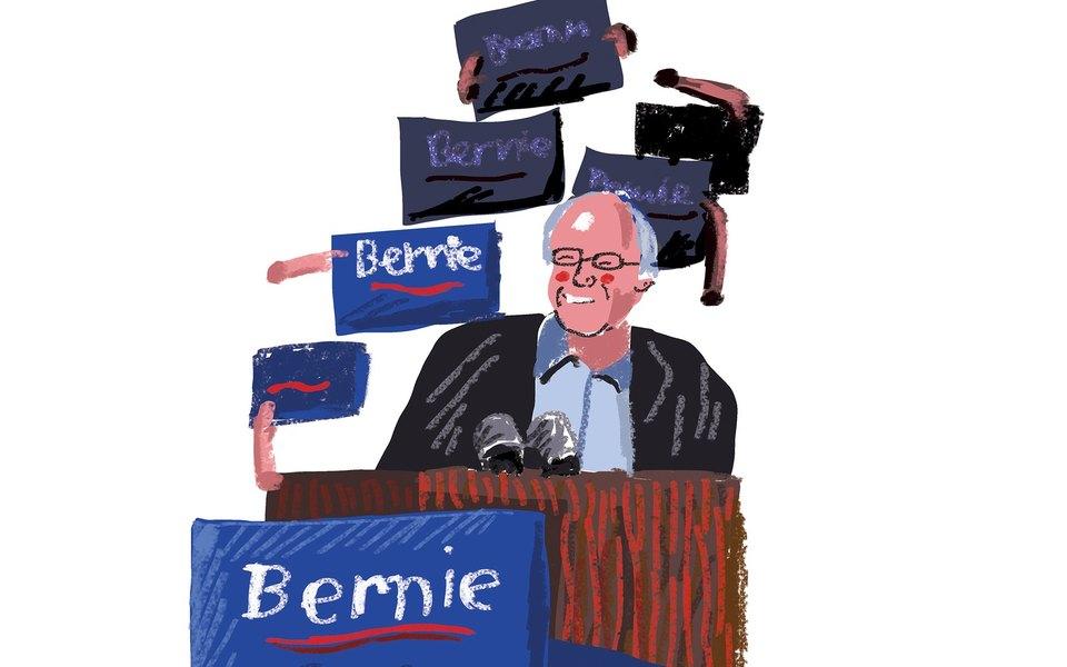 Берни Сандерс — впоиске новой американской мечты