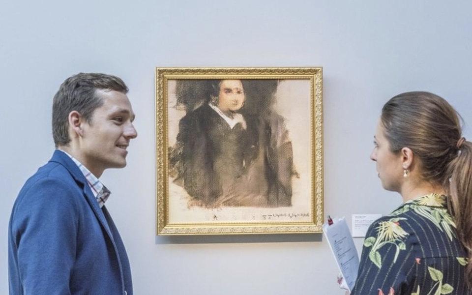 Картина, созданная искусственным интеллектом, продана за432 тысячи долларов