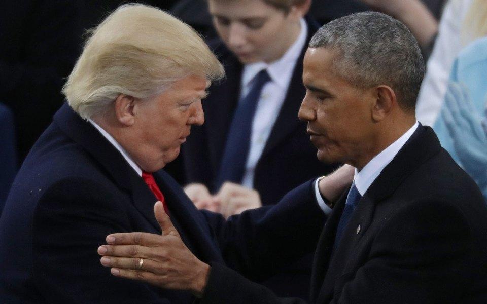 Опубликовано прощальное письмо Обамы Трампу