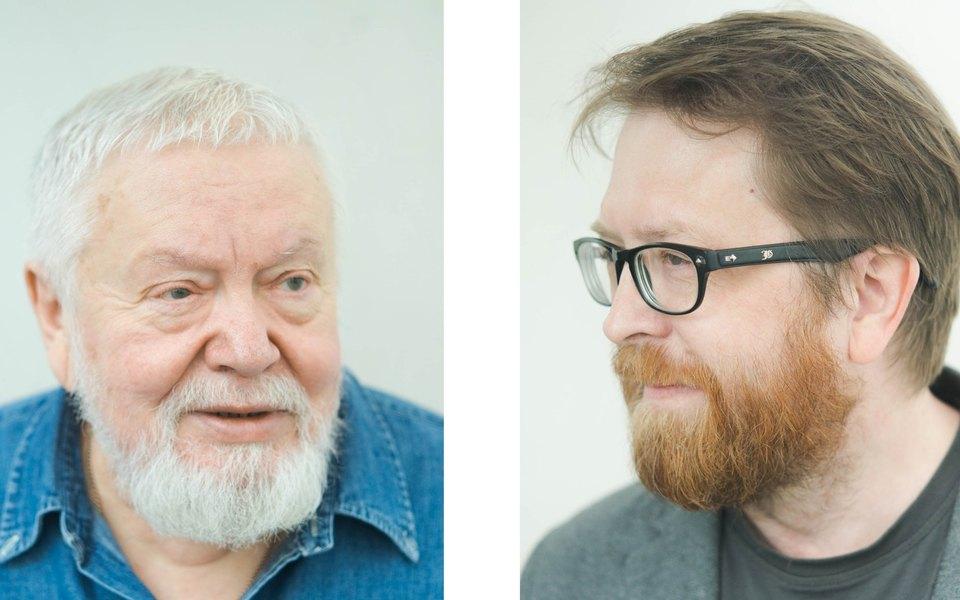 Сергей Соловьев иАндрей Геласимов офильме «КЕ-ДЫ»
